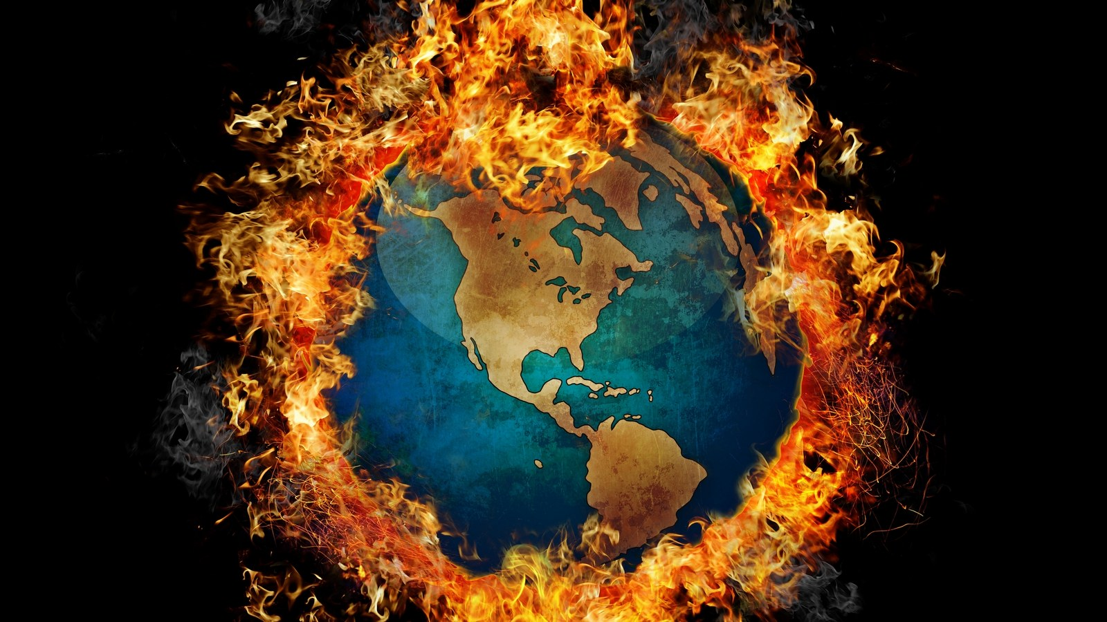 Why is the secular left wing so attracted to Global Warming?
